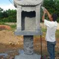 Cây hương đá LM 03 thờ trời đất, bàn thờ ngoài trời
