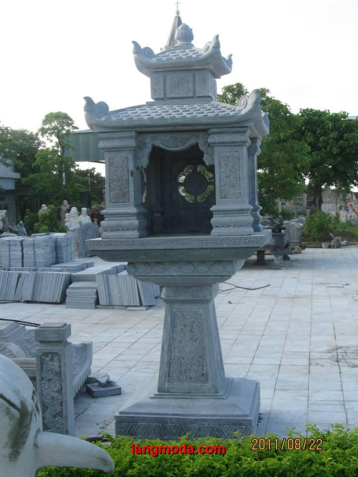 Cây hương đá LM 07 thờ thần linh, cây hương thờ mẫu cửu