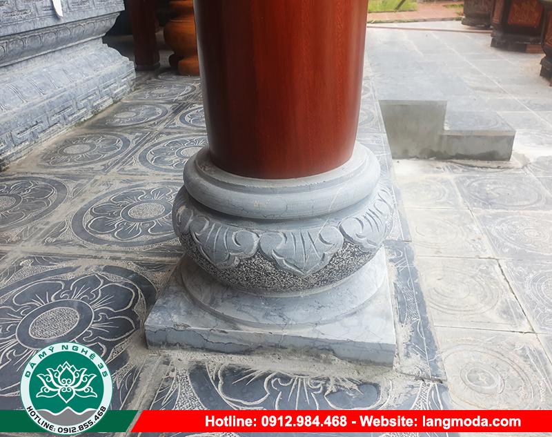 Chúng thường dùng để kê dưới cột đá, cột gỗ tại những công trình tâm linh như đình, chùa, miếu, nhà thờ họ, từ đường hay chân cột nhà…