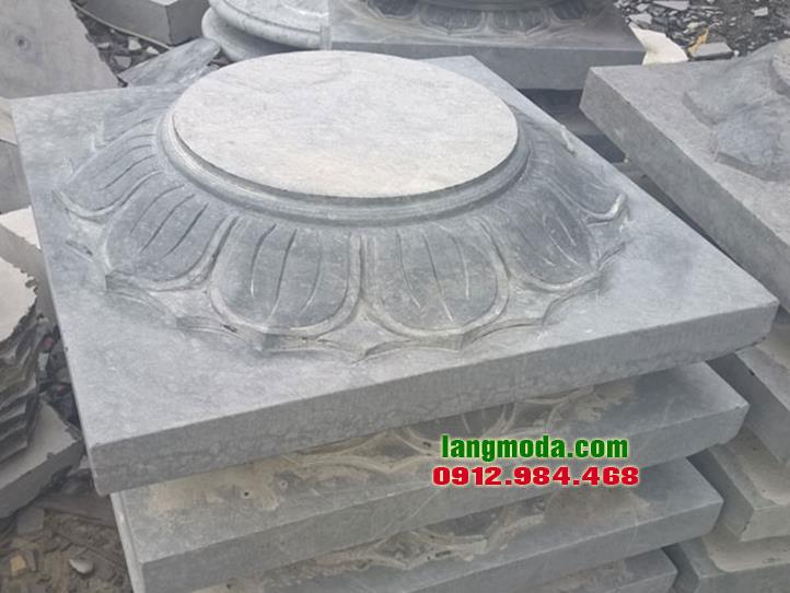 Chân tảng đá LM 25 mẫu chân cột nhà đẹp, chân tảng đá cột gỗ