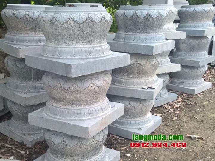 Chân tảng đá LM 26 mẫu chân cột đá, chân tảng kê cột nhà đẹp