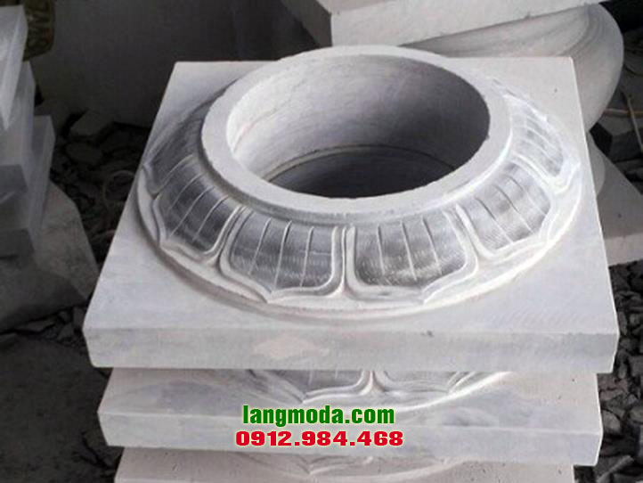 Chân tảng đá LM 32 Thanh Hóa, đế kê cột nhà đẹp