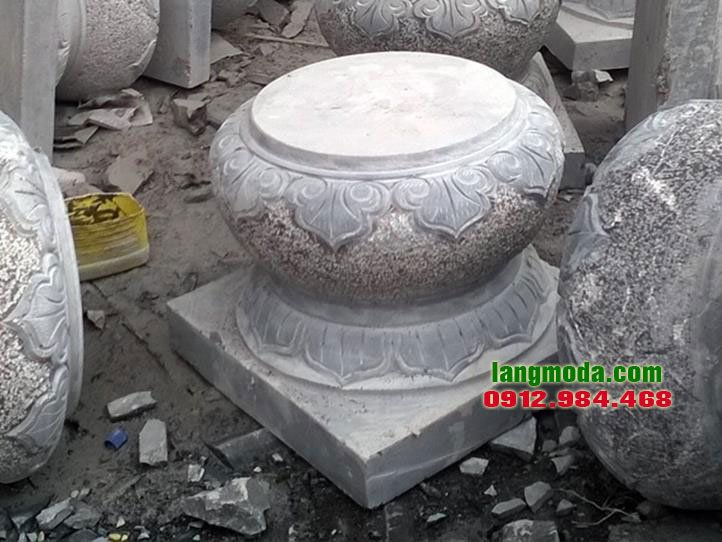 Chân tảng đá LM 33 Ninh Bình, đá kê cột gỗ, đá kê chân cột