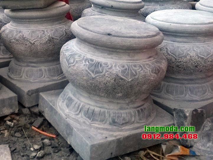Chân tảng đá LM 34 đá xanh Thanh Hóa, mẫu chân tảng đá đẹp giá rẻ