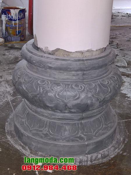 Chân tảng đá LM 45 đá kê cột nhà thờ
