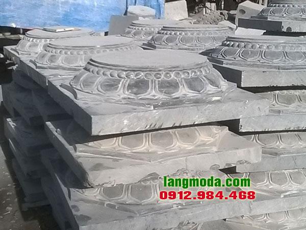 Chân tảng đá LM 49 chân cột nhà sàn, đá kê chân cột Ninh Bình