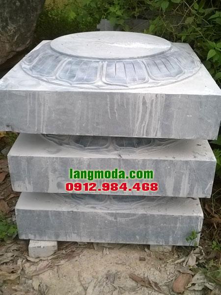 Chân tảng đá LM 54 giá chân cột đá, đá tảng kê cột gỗ