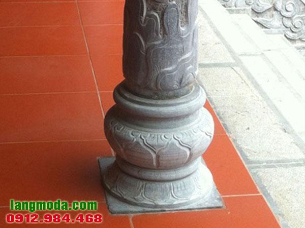Chân tảng đá LM 66 - Mẫu chân cột nhà đẹp bằng đá, chân đế cột gỗ đẹp