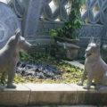 Chó đá LM 02 tượng chó bằng đá