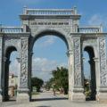 Cổng đá LM 17 - thiết kế xây dựng cổng tam quan đá đẹp
