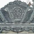Cuốn thư đá LM 05 thợ đá Ninh Bình