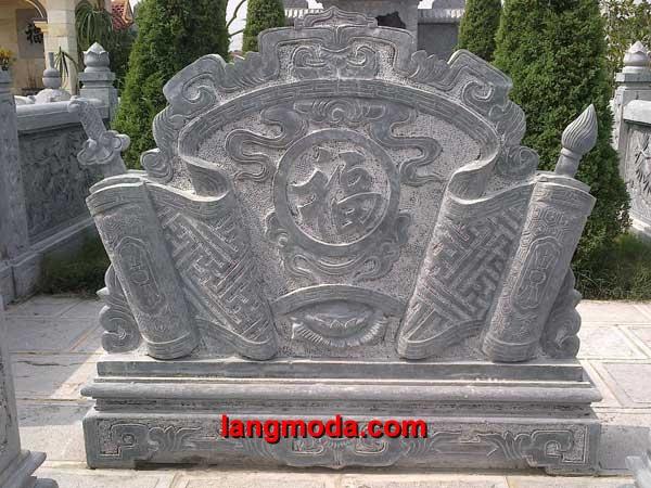 Cuốn thư đá LM 43 đình làng