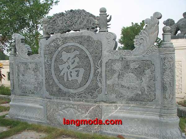 Cuốn thư đá LM 44 đình chùa