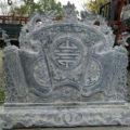 Cuốn thư đá LM 54 mẫu cuốn thư đặt lăng mộ