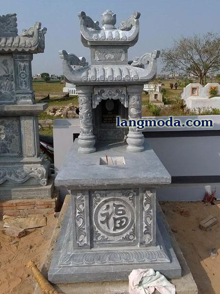 LM 41 Mẫu mộ đẹp hai mái