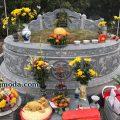 LM 47 Mẫu mộ tròn đẹp
