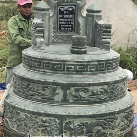 LM 51 Mẫu mộ tròn đẹp