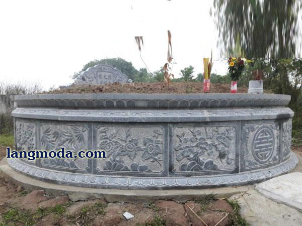 LM 52 Mẫu mộ tròn đẹp