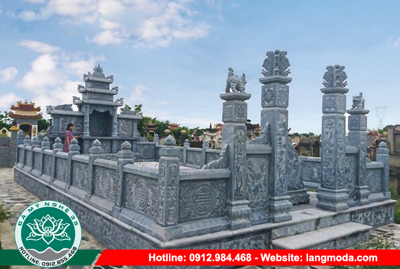 Mẫu nghĩa trang dòng họ LM 53