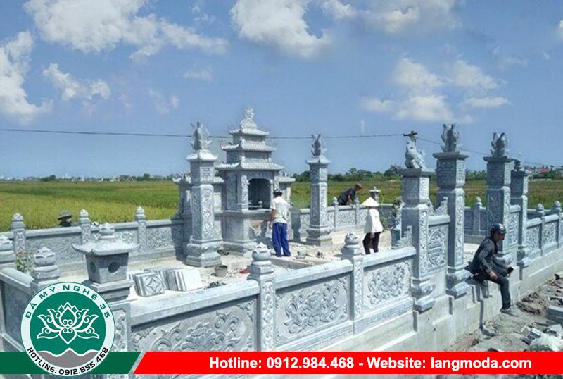LM 54 Mẫu nghĩa trang dòng họ