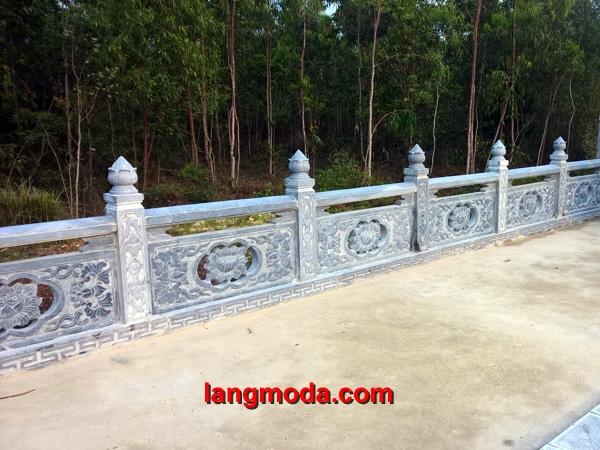 Lan can đá LM 26 - Mẫu tường rào đẹp giá rẻ