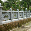 Lan can đá LM 30 bằng đá xanh Thanh Hóa