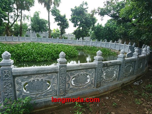 Lan can đá LM 31 xanh Ninh Bình