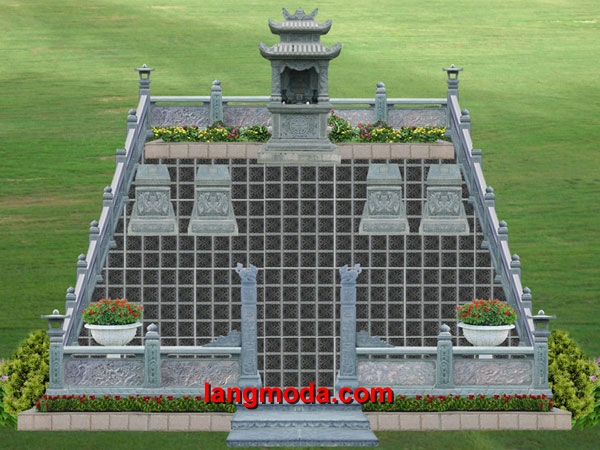 Bản thiết kế lăng mộ LM 10