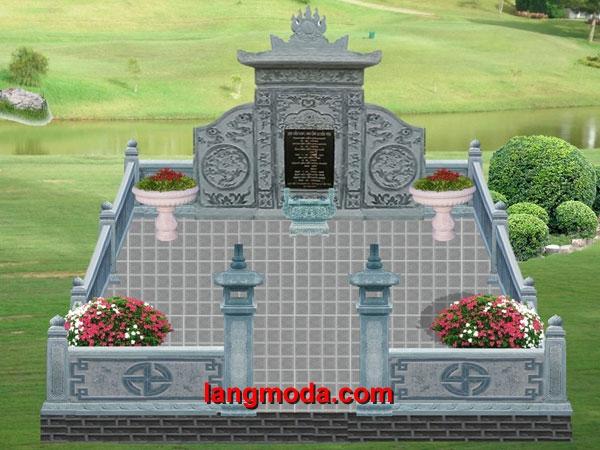 Bản thiết kế lăng mộ LM 12
