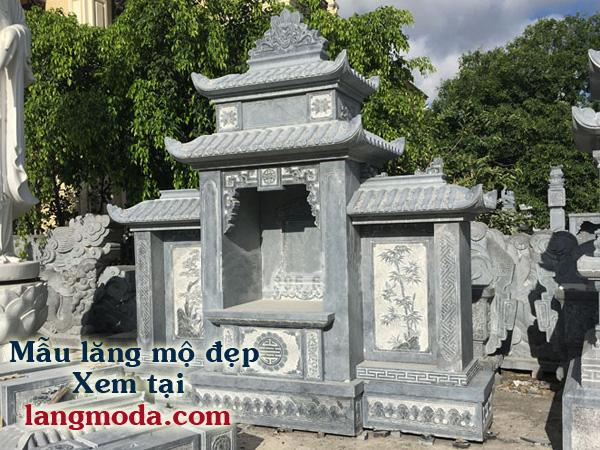 Mẫu lăng mộ đẹp giới thiệu