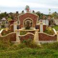 Mẫu lăng mộ xây LM 04
