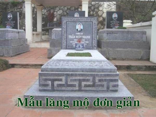 Mẫu mộ đơn giản đẹp sưu tầm
