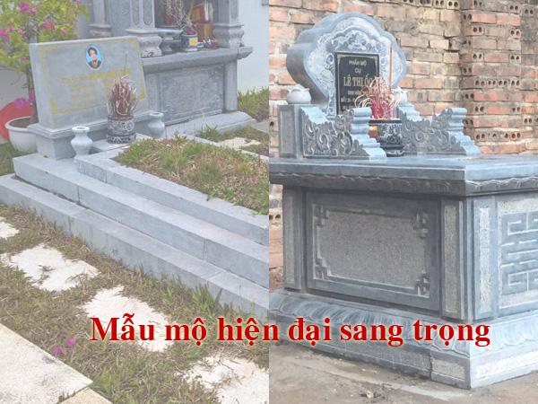Mẫu mộ hiện đại