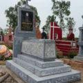 Mộ công giáo đá LM 33