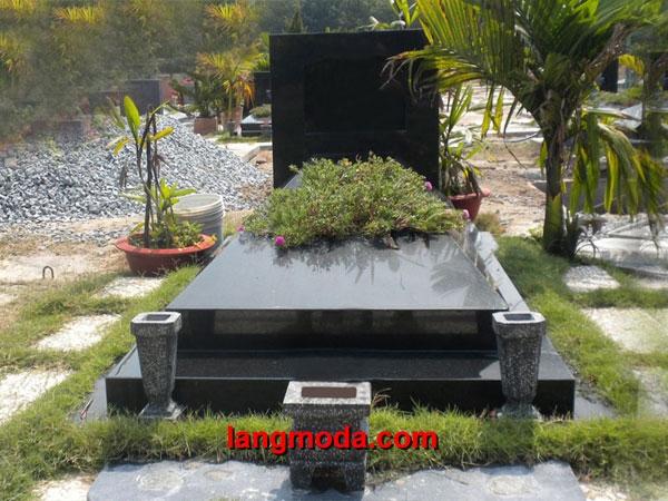 Mộ đá hoa cương granite LM 10
