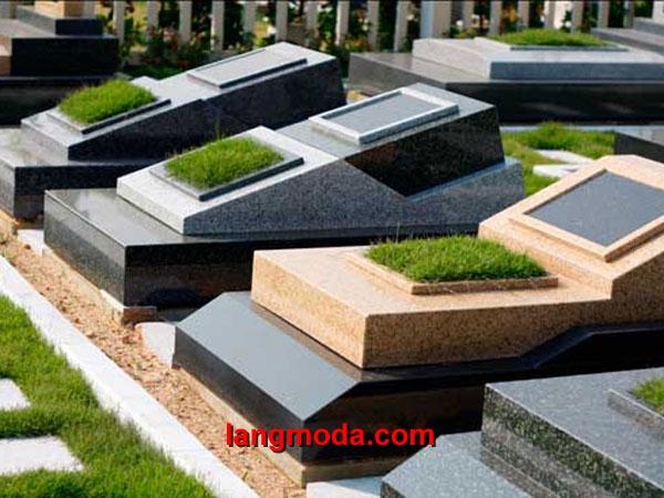 Mộ đá hoa cương granite LM 12