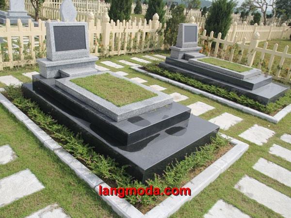 Mộ đá hoa cương granite LM 13