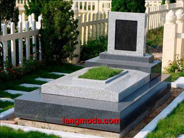 Mộ đá hoa cương granite LM 14