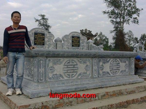 Mẫu mộ đôi đẹp LM 24
