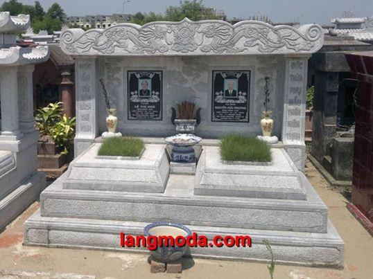Mộ đôi đá LM 39, kích thước mộ đôi bao nhiêu