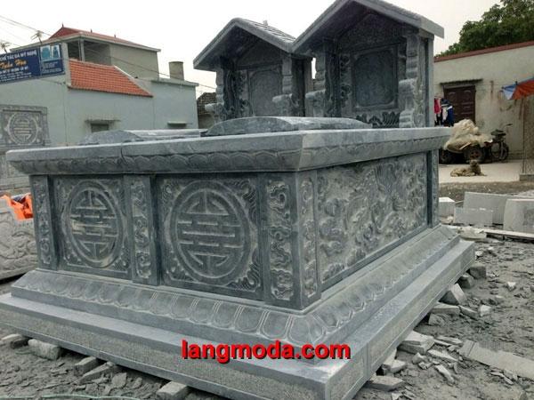 Mộ đôi đá LM 40, các mẫu mộ đôi cho ông bà