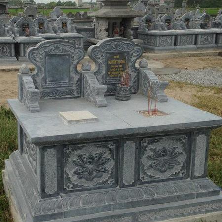 Mộ đôi đá LM 46, kích thước mộ đôi phong thủy