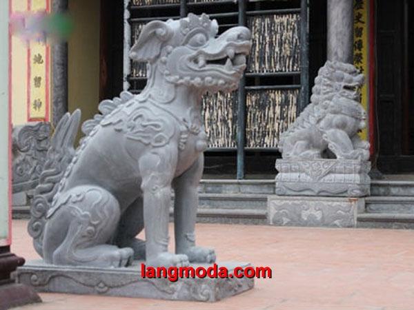 Nghê đá LM 12 đẹp - Mẫu nghê thuần Việt