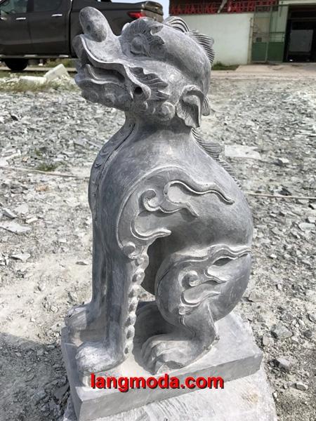 Nghê đá LM 21 - Nghê cổ Việt Nam - bán nghê đá khối