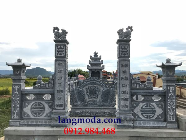 cổng lăng mộ đá đẹp