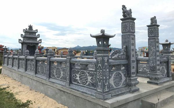sản xuất thi công lăng mộ