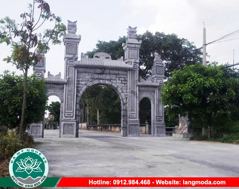 Các mẫu cổng làng đẹp có rất nhiều ưu điểm nổi trội