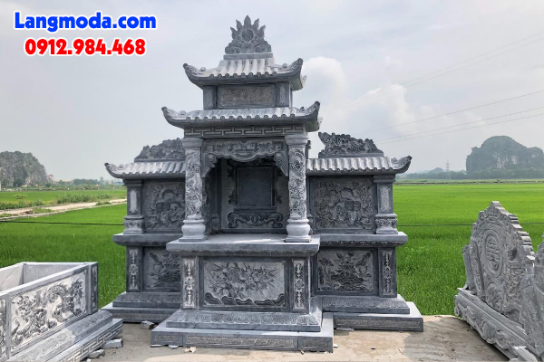 Lăng thờ đơn hay còn gọi là lăng thờ chung trong quần thể khu lăng mộ